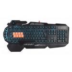 Клавиатура A4Tech Bloody B318 черный USB Multimedia for gamer LED (подставка для запястий)