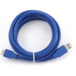 Кабель соединителльный VCOM USB-AmBm REV3.0 3m