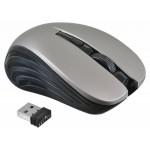 Мышь Оклик 545MW черный/серый оптическая (1600dpi) беспроводная USB (3but)