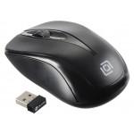 Мышь Оклик 675MW черный оптическая (800dpi) беспроводная USB (2but)