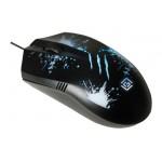 Мышь Оклик 399M STIGMA черный оптическая (1000dpi) USB (3but)