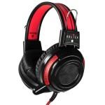 Наушники с микрофоном Оклик HS-G300 ARMAGEDDON черный/красный 2.5м мониторные оголовье (AH-V1)