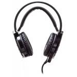 Наушники с микрофоном Оклик HS-L450G ARROW черный 2.2м мониторные оголовье (HS-L450G)