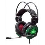 Наушники с микрофоном Оклик HS-L500G TOXIC черный 2.2м мониторные оголовье (HS-L500G)
